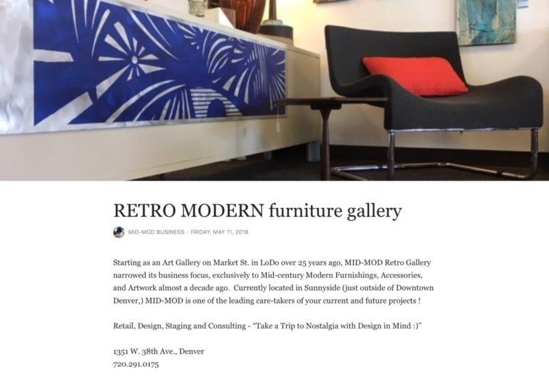 Mid Mod Mall Llc Denver Colorado, Mid Century Modern Furniture Denver